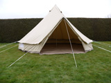 Tents for hire Wiltshire - The Bare Bell